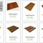 Giá Tấm nhựa giả gỗ ốp tường composite làm vách ngăn phòng cao cấp sang trọng theo 2 trọn gói