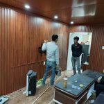 Giá Tấm nhựa giả gỗ composite ốp trần nhà theo mét vuông, mét dài tại hà nội và tphcm sài gòn 2021 trọn gói