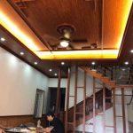 Thợ làm trần nhựa Tại Ninh Bình PVC nano giả Vân Gỗ giá rẻ Chuyên Nghiệp